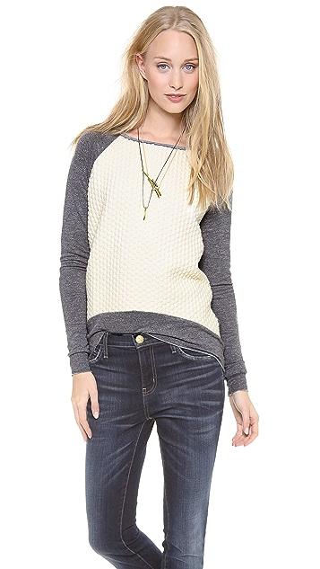 Generation Love Wite Popcorn Sweater