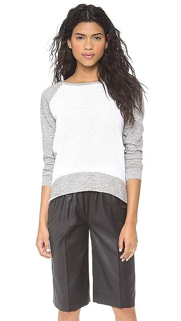 Generation Love Emma Perforated Front Sweatshirt