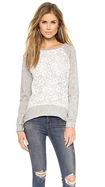 Generation Love Emma Lace Flower Sweatshirt