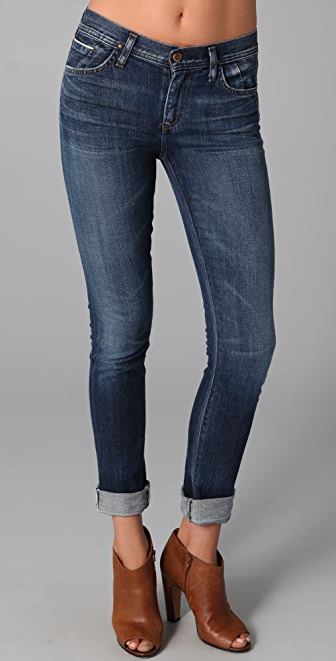 GOLDSIGN Jenny High Rise Skinny Jeans