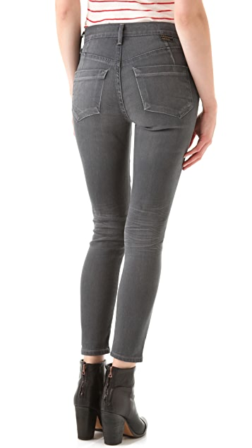 GOLDSIGN Virtual Cropped Jeans