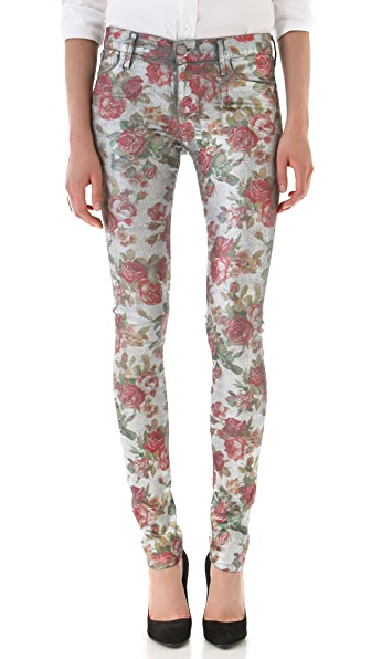GOLDSIGN Lure Floral Jeans
