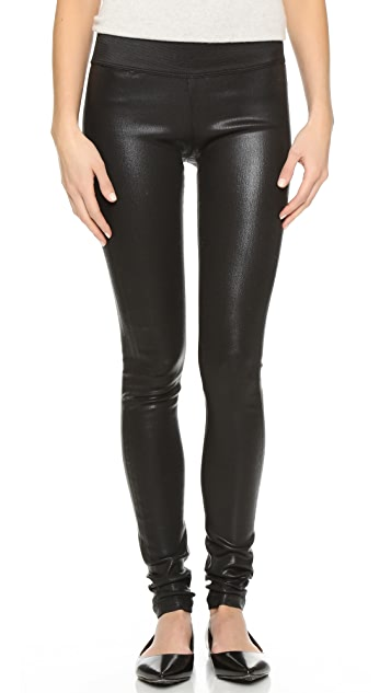 GOLDSIGN Zebra Coated Legging Jeans