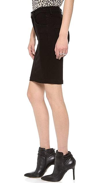 GOLDSIGN Holly Denim Skirt
