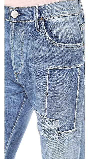 GOLDSIGN Stevie Straight Leg Jeans