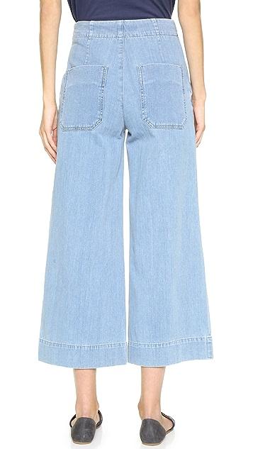 GOLDSIGN Karla Crop Trouser Jeans