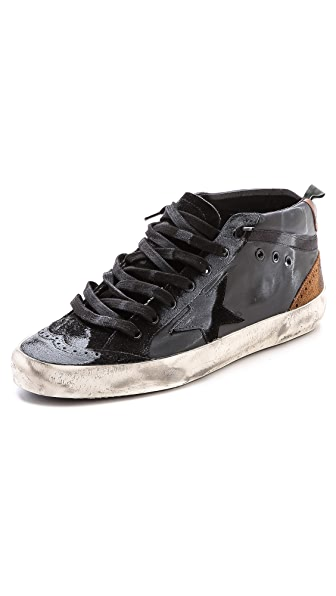 Golden Goose Mid/Star Sneakers