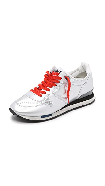 Golden Goose Running Sneakers - Silver