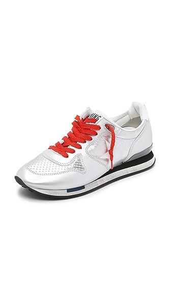Golden Goose Running Sneakers - Silver