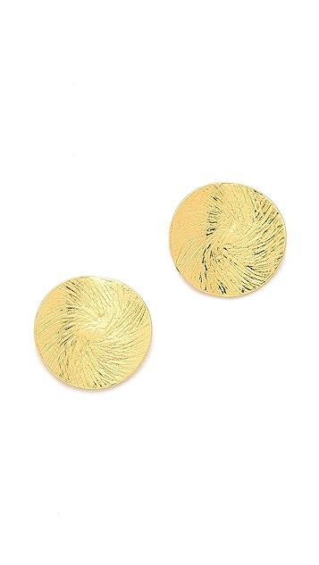 Gorjana Petal Stud Earrings