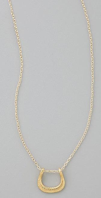 Gorjana Small Horseshoe Necklace