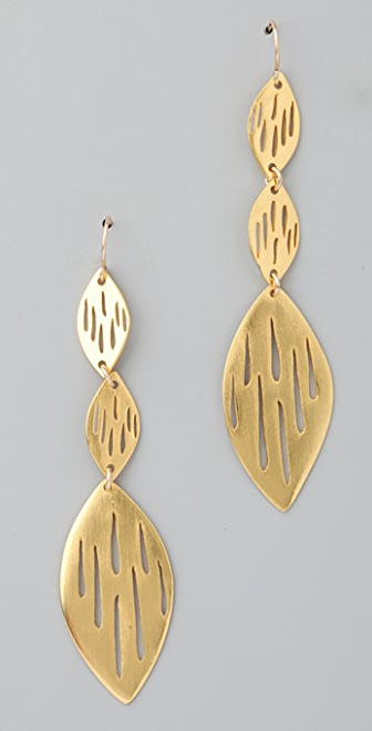 Gorjana Hunter Long Drop Earrings