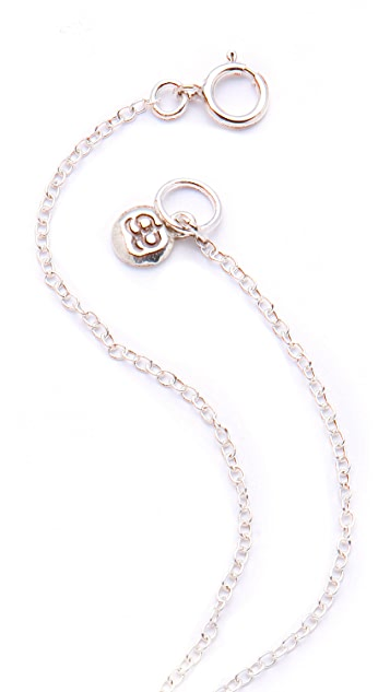 Gorjana Feather Necklace