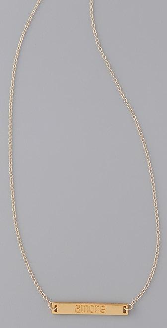 Gorjana Amore Necklace