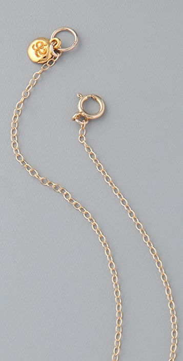 Gorjana Reversible Alphabet Necklace