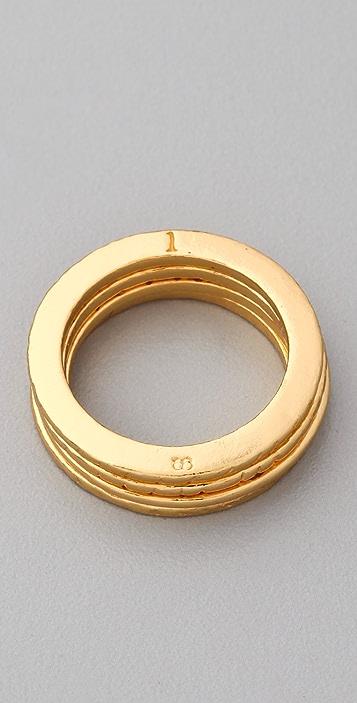 Gorjana Love Ring Set