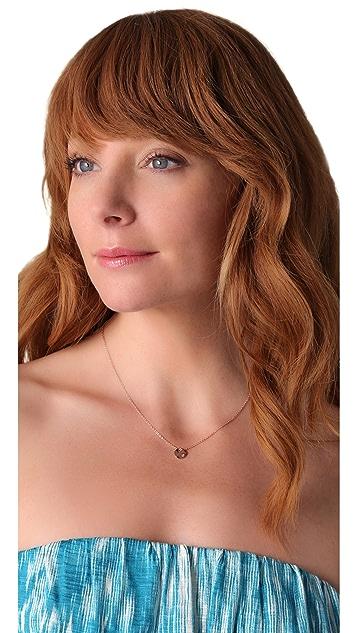 Gorjana Chloe Shimmer Charm Necklace
