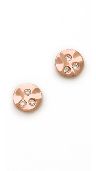Gorjana Chloe Shimmer Stud Earrings