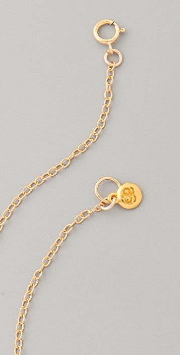 Gorjana Jaden Three Charm Necklace