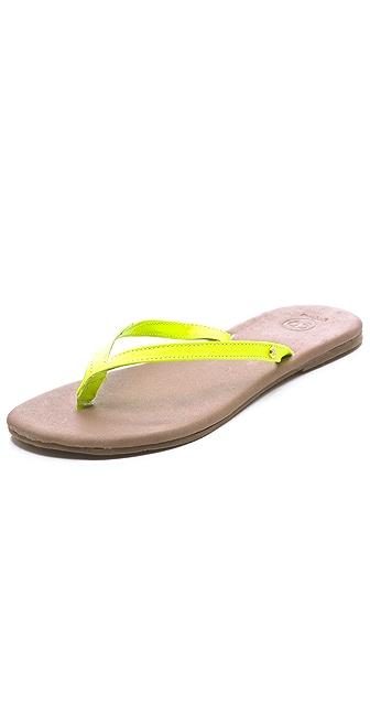 Gorjana Laguna Neon Flip Flops
