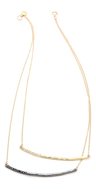 Gorjana Taner Shimmer Double Layer Necklace