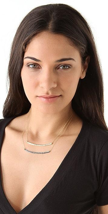 Gorjana Taner Shimmer Double Layer Necklace