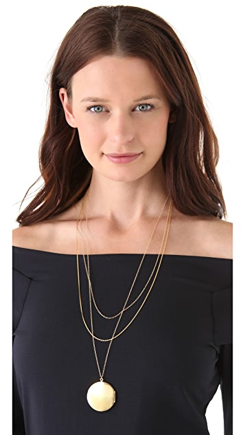 Gorjana Ella Layer Locket Necklace