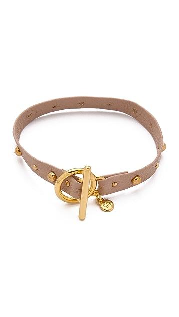 Gorjana Graham Leather Bracelet