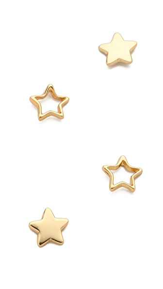 Gorjana Friendship Star Earring Set