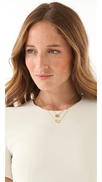 Gorjana Open Heart Necklace