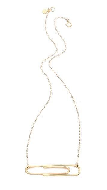 Gorjana Raul for Gorjana Paperclip Necklace