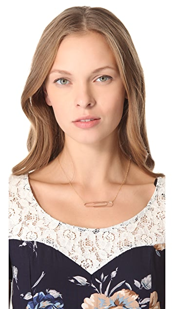 Gorjana Raul for Gorjana Paperclip Necklace