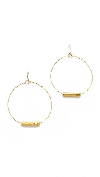 Gorjana Taner Bead Hoop Earrings