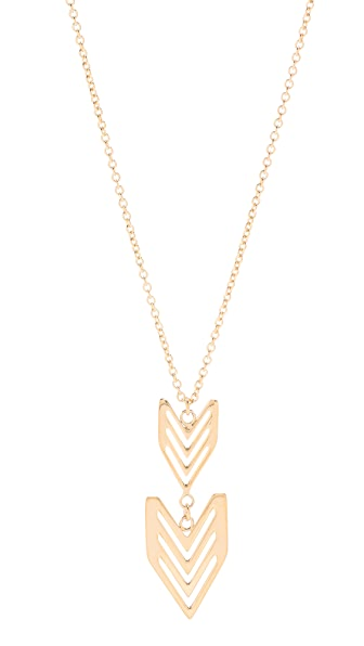 Gorjana Chevron Tribal Necklace