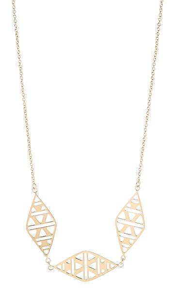 Gorjana Kaia 3 Charm Necklace