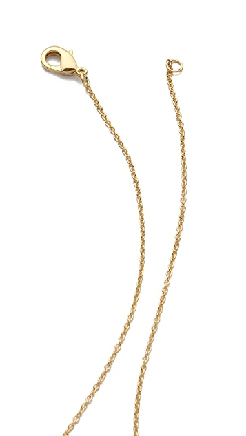 Gorjana Kaia 3 Charm Necklace