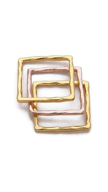 Gorjana Finley Ring Set