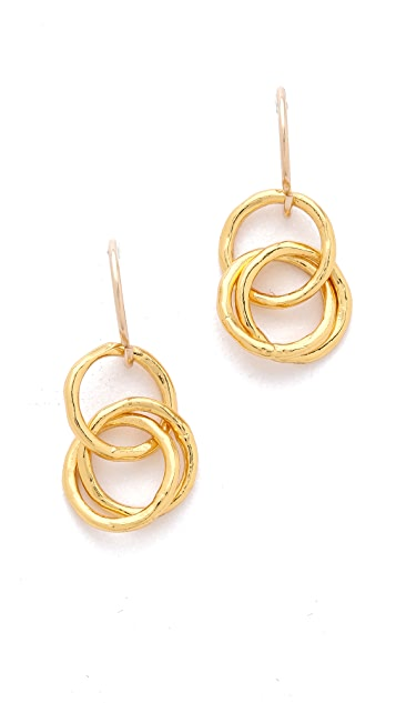 Gorjana Infinity II Drop Earrings