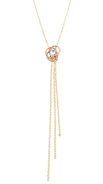 Gorjana Infinity II Tiered Necklace