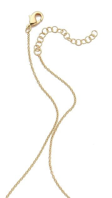 Gorjana Greer V Neck Layer Necklace