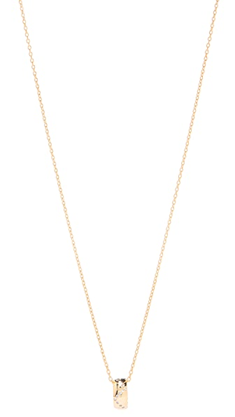 Gorjana Delaney Wave Ring Necklace