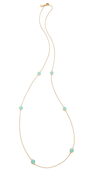 Gorjana Bloom Disc Necklace