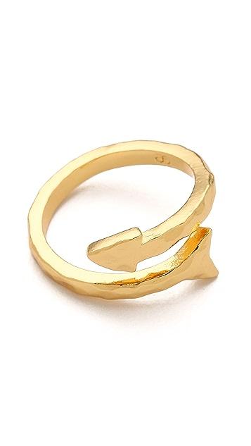 Gorjana Arrow Wrap Ring