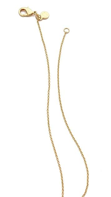 Gorjana Cat Eye Tiered Necklace