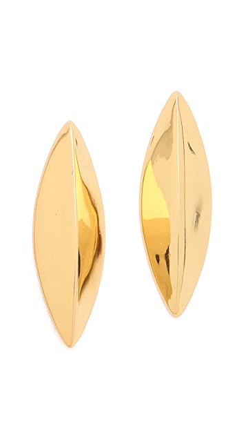 Gorjana Cat Eye Stud Earrings