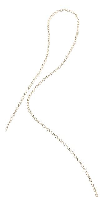 Gorjana Knox Bar Lariat Necklace