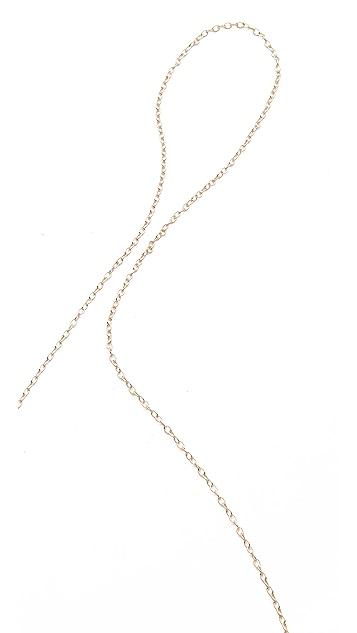 Gorjana Disc Lariat Necklace