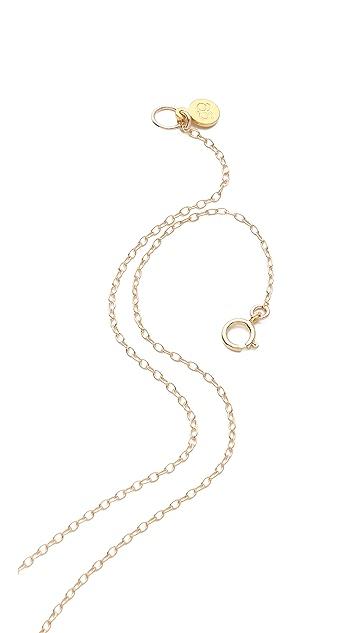 Gorjana Honeycomb Wrap Necklace
