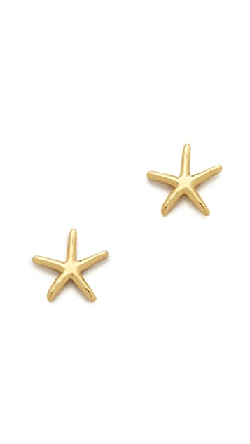 Gorjana Starfish Stud Earrings