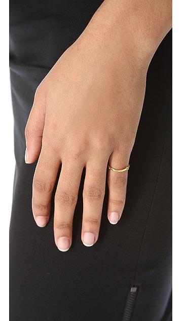 Gorjana Taner Bar Chain Ring